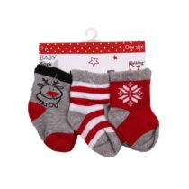 Babysockar 3-pack jul Walking
